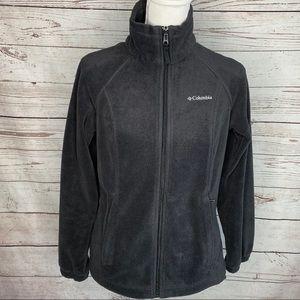 Columbia Fleece Zip Up Jacket  Size Small